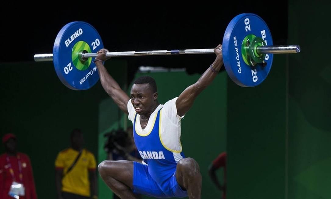 O halterofilista ugandense Julius Ssekitoleko, de 20 anos, dado como desaparecido Foto: Reprodução