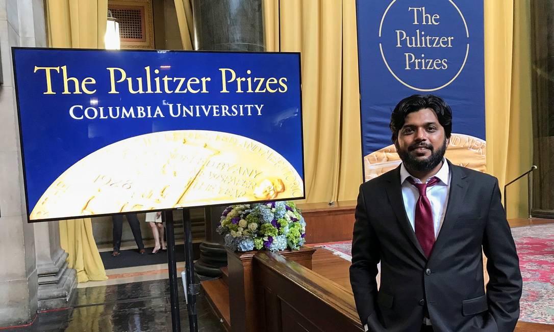 Danish Siddiqui, era o fotógrafo-chefe da agência de notícias Reuters na Índia, e já ganhou o maior prêmio internacional de jornalismo, o Pulitzer Foto: MOHAMMAD PONIR HOSSAIN / REUTERS