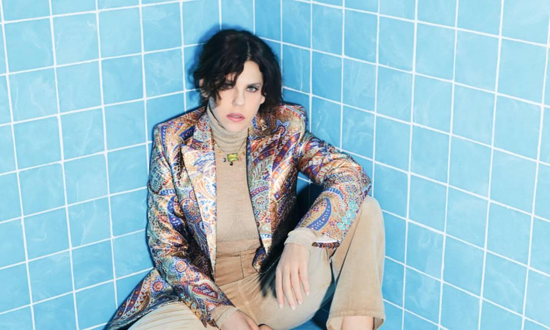 Bárbara Paz Foto: Marcus Sabah; styling Felipe Veloso