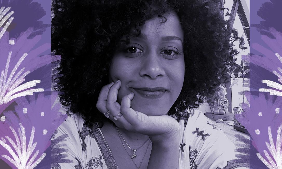 Illi é uma artista baiana que mora no Recife. Sua arte busca resgatara ancestralidade como forma de enaltecer a beleza negra Foto: Divulgação