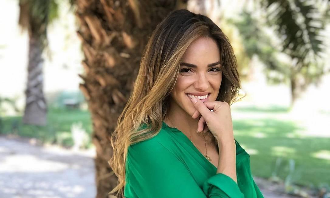 A modelo brasileira Nayara Vit Foto: Reprodução