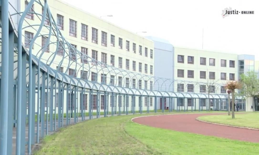Presídio da cidade de Euskirchen, na Alemanha Foto: Reprodução