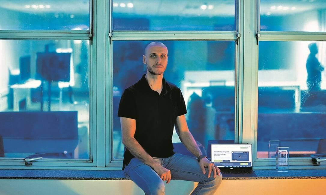 Rodolfo Fiori, presidente da Gove, especializada em gestão pública: start-up desenvolveu plataforma que ajuda prefeituras a aumentarem eficiência de gastos Foto: Edilson Dantas