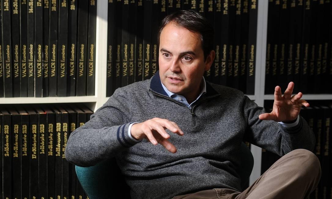 """Stelleo Tolda. Sem interesse nos Correios: """"Investimos em logística própria"""" Foto: Claudio Belli / Agência O Globo"""