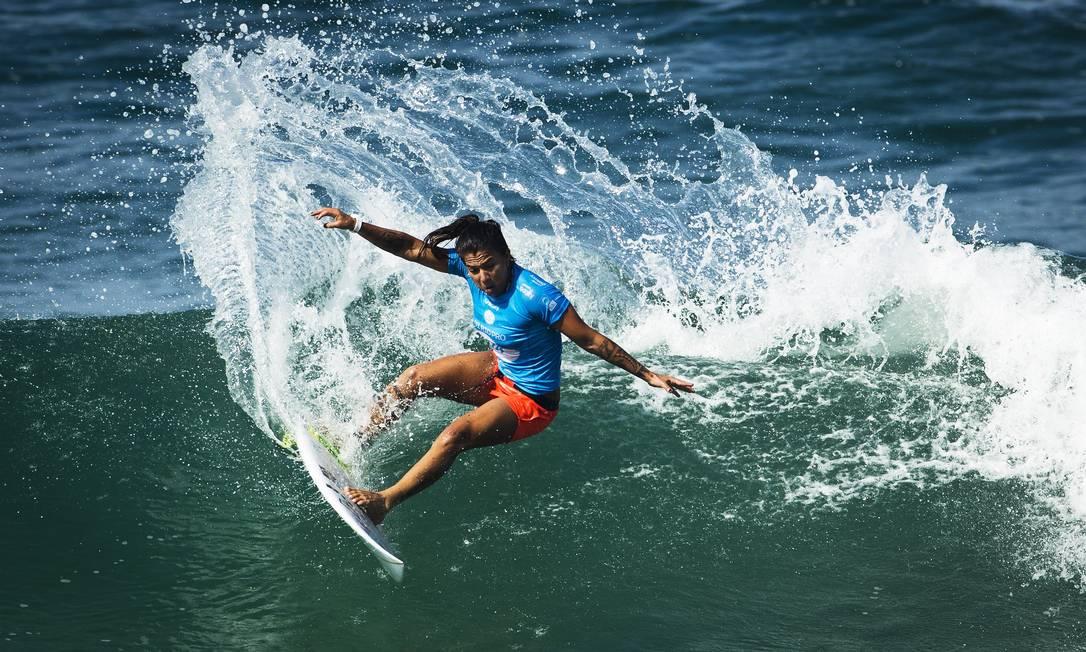 Silvana Lima também vai representar o Brasil em Tóquio Foto: Guito Moreto / O Globo