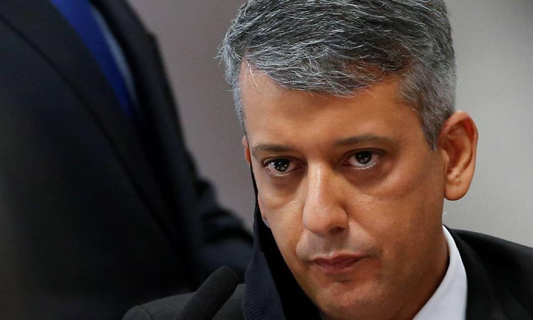 Ex-diretor de logística do Ministério da Saúde, Roberto Ferreira Dias Foto: ADRIANO MACHADO / REUTERS