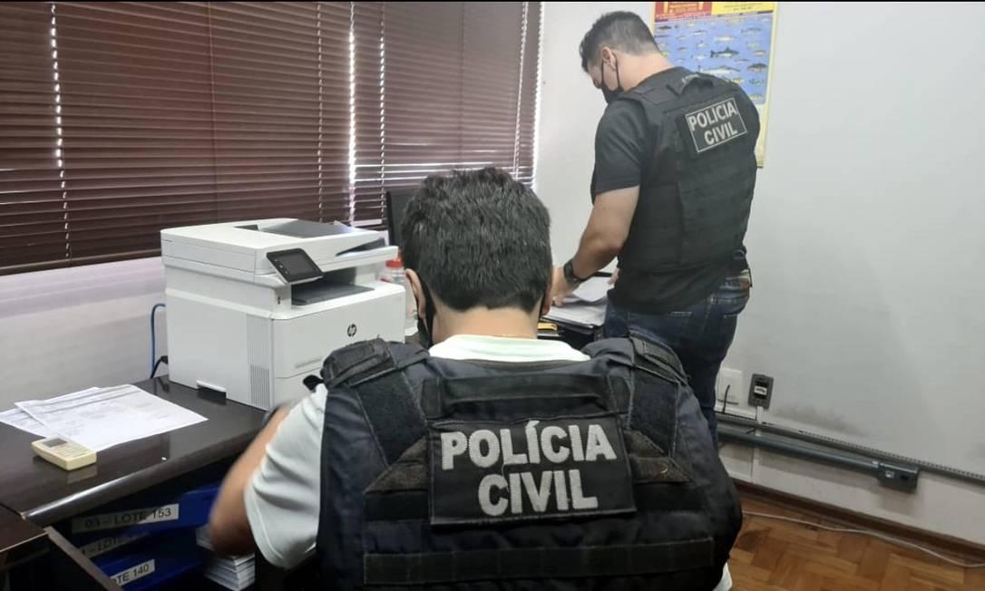 Agentes da Polícia Civil do Paraná Foto: Polícia Civil / Divulgação