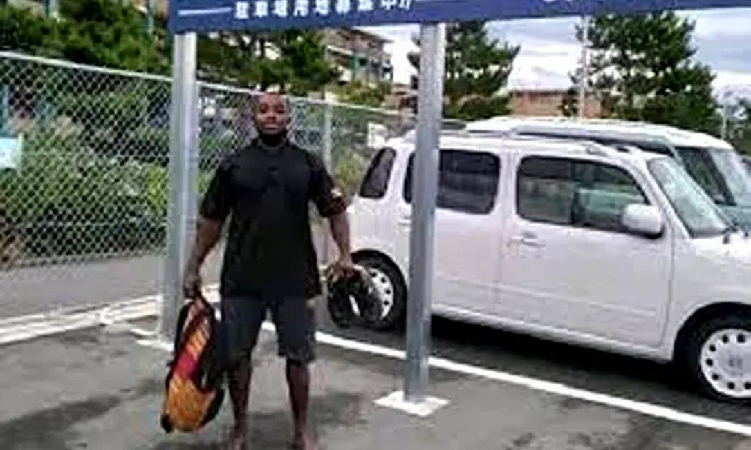 O halterofilista Julius Ssekitoleko, de 20 anos, desaparecido desde a última sexta-feira Foto: Reprodução