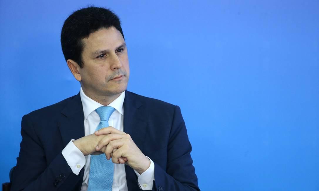 O presidente do PSDB, Bruno Araújo, acredita que prévias podem ajudar a impulsionar o partido Foto: Jorge William / Agência O Globo (13/11/2017)