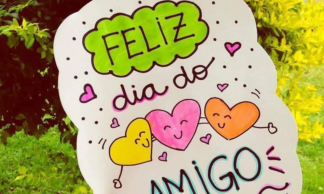 Dia do Amigo é comemorado no dia 20 de julho Foto: Reprodução/Facebook