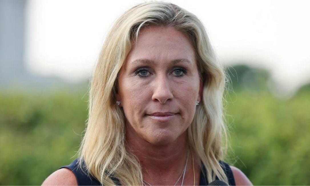 A congressista republicana Marjorie Taylor Greene Foto: Reuters