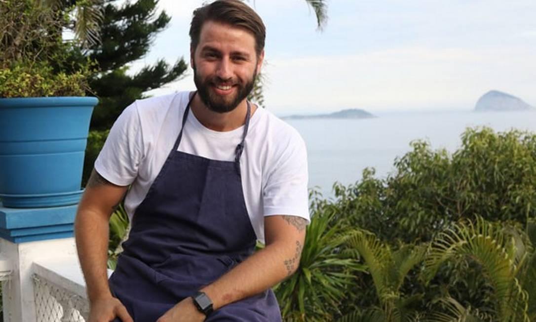 Chef Pedro Benoliel: curador das aulas do Rio Gastronomia no Farol Santander Foto: Daniel Janssens / Editora Globo
