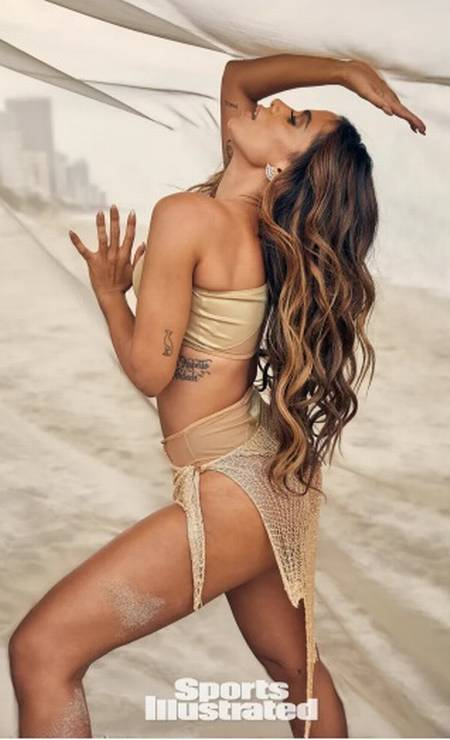 Anitta para a Sports Illustrated Swimsuit Issue Foto: Sports Illustrated Swimsuit Issue