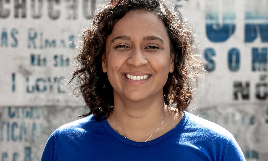 Bruna Brelaz, 26 anos, foi escolhida para liderar a UNE durante o próximo ano Foto: GUI / Yuri Salvador/ Divulgação
