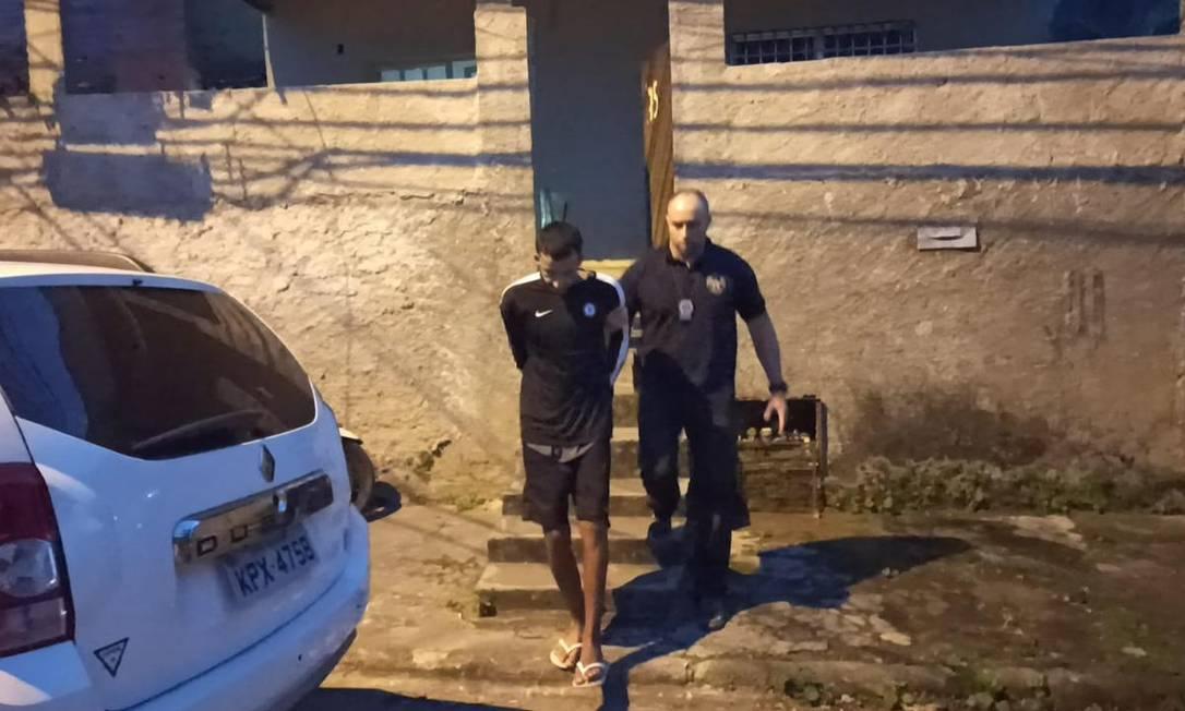 Ricardo Patrick Vieira dos Santos foi preso nesta terça-feira Foto: Reprodução