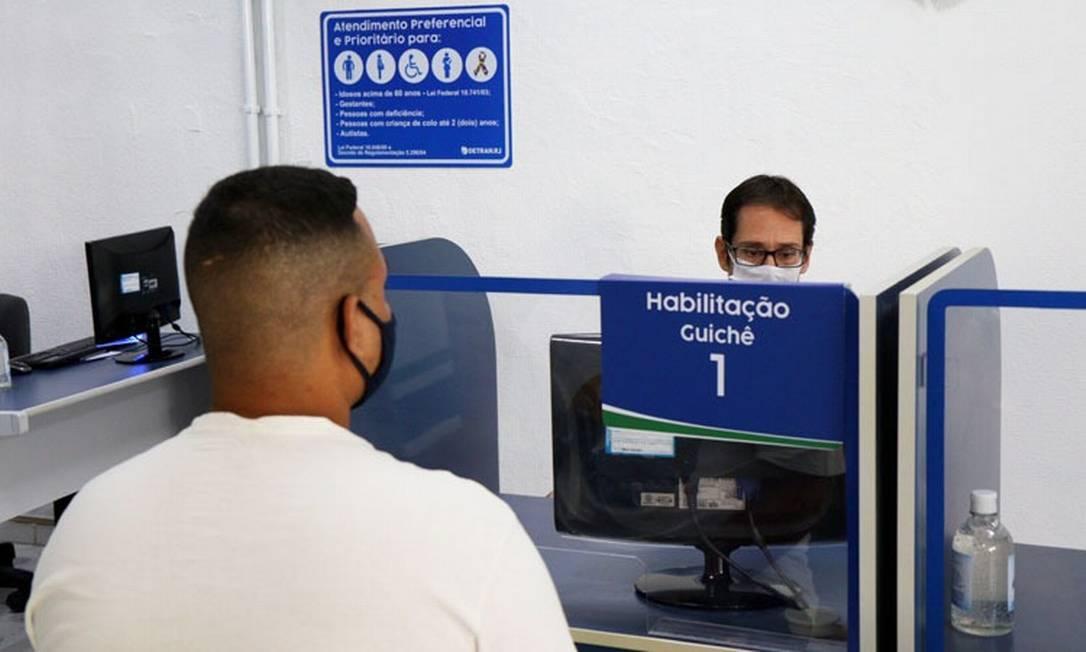 Detran-RJ chega a seu 34º mutirão de atendimento aos sábados Foto: Detran / Divulgação