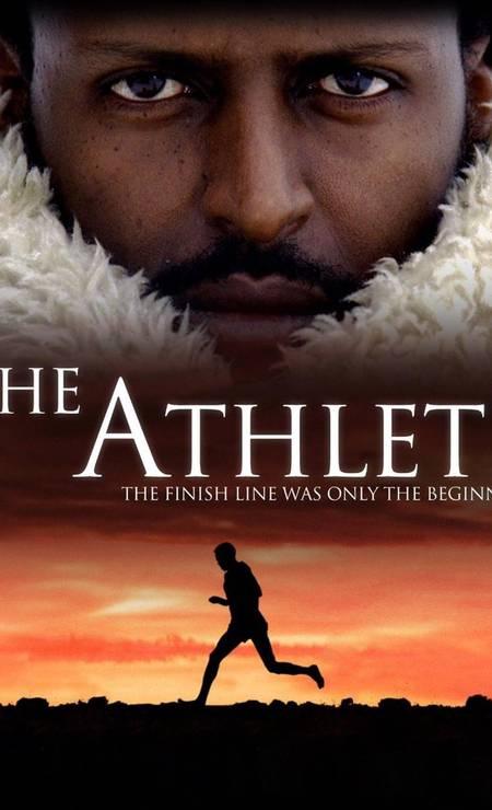 Primeiro atleta africano a conquistar uma medalha de ouro nas Olimpíadas, ao vencer descalço a maratona de ROMA-1960, Abebe Bikila ganhou a cinebiografia 'The Athlete', lançada em 2009. Foto: Divulgação