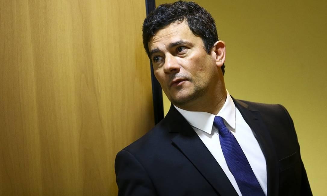 O ex-ministro Sergio Moro atuou no governo Bolsonaro e condenou o petista Lula Foto: Marcelo Camargo / Agência Brasil