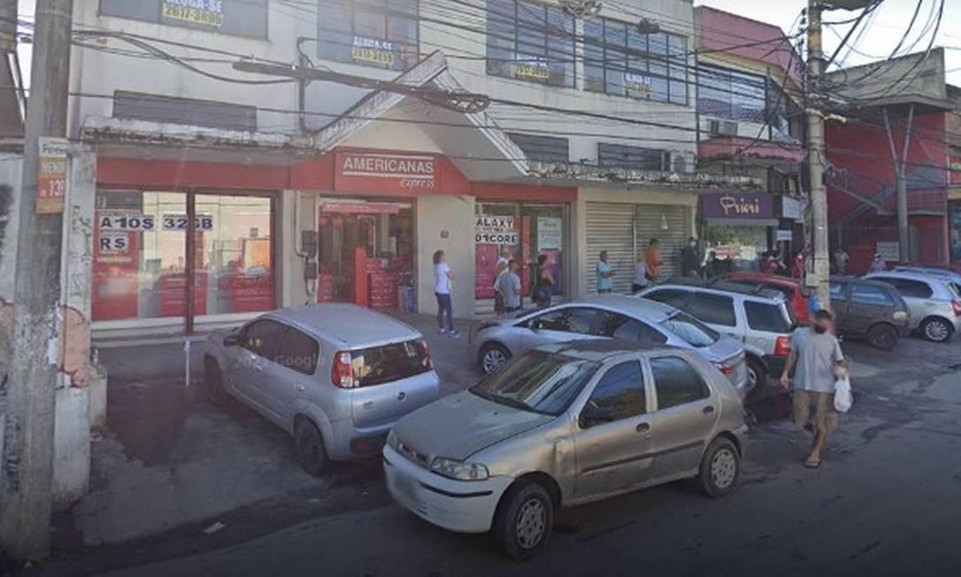 O local onde ocorreu o crime Foto: Reprodução / Google Street View