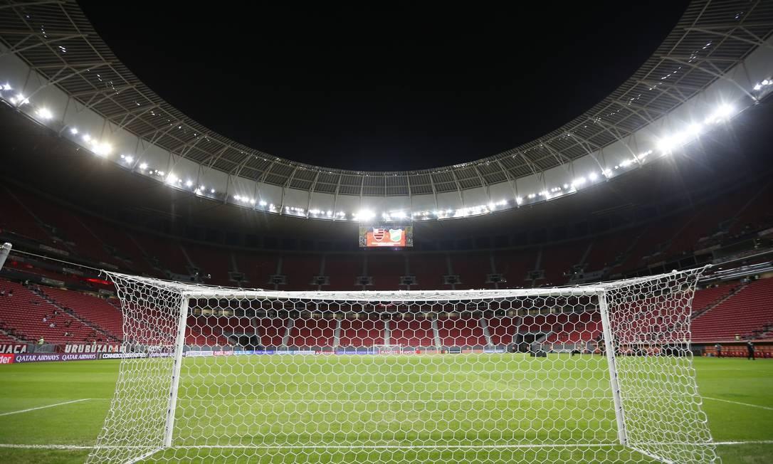 Mané Garrincha, em Brasília Foto: ADRIANO MACHADO / Pool via REUTERS