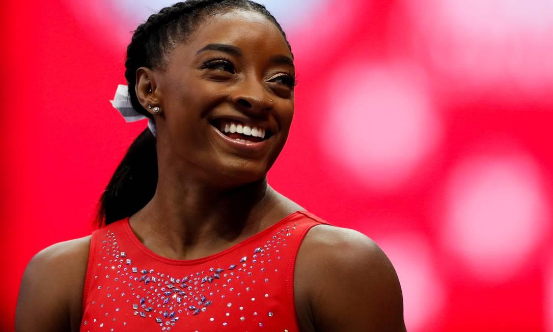 Simone Biles, uma das estrelas dos Jogos de Tóquio Foto: LINDSEY WASSON / REUTERS