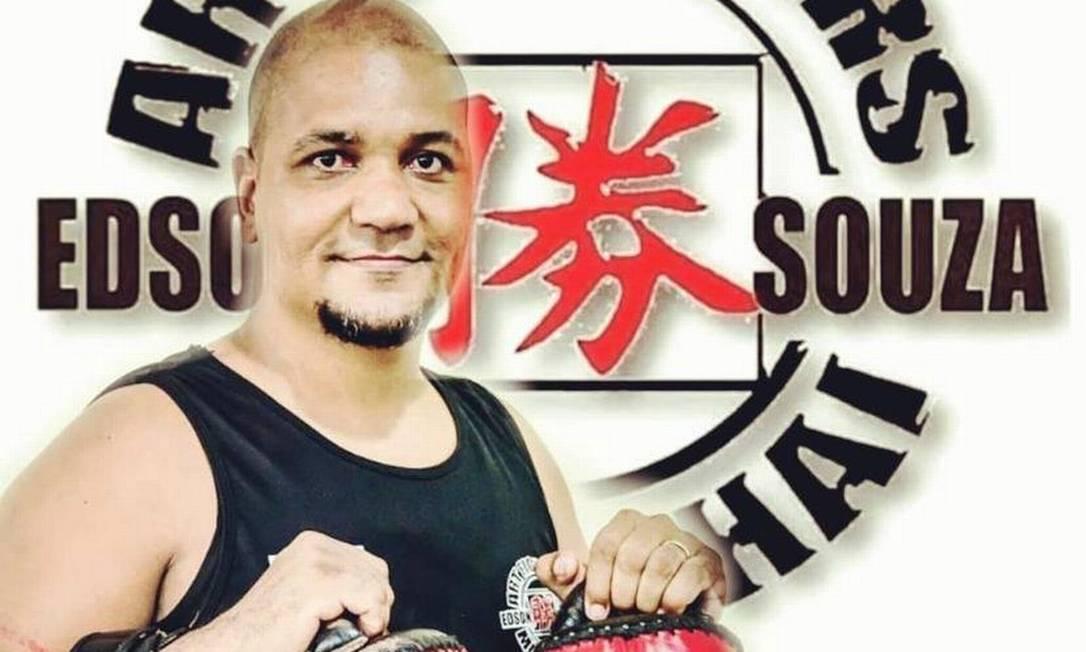 O professor Edson Souza Foto: Reprodução