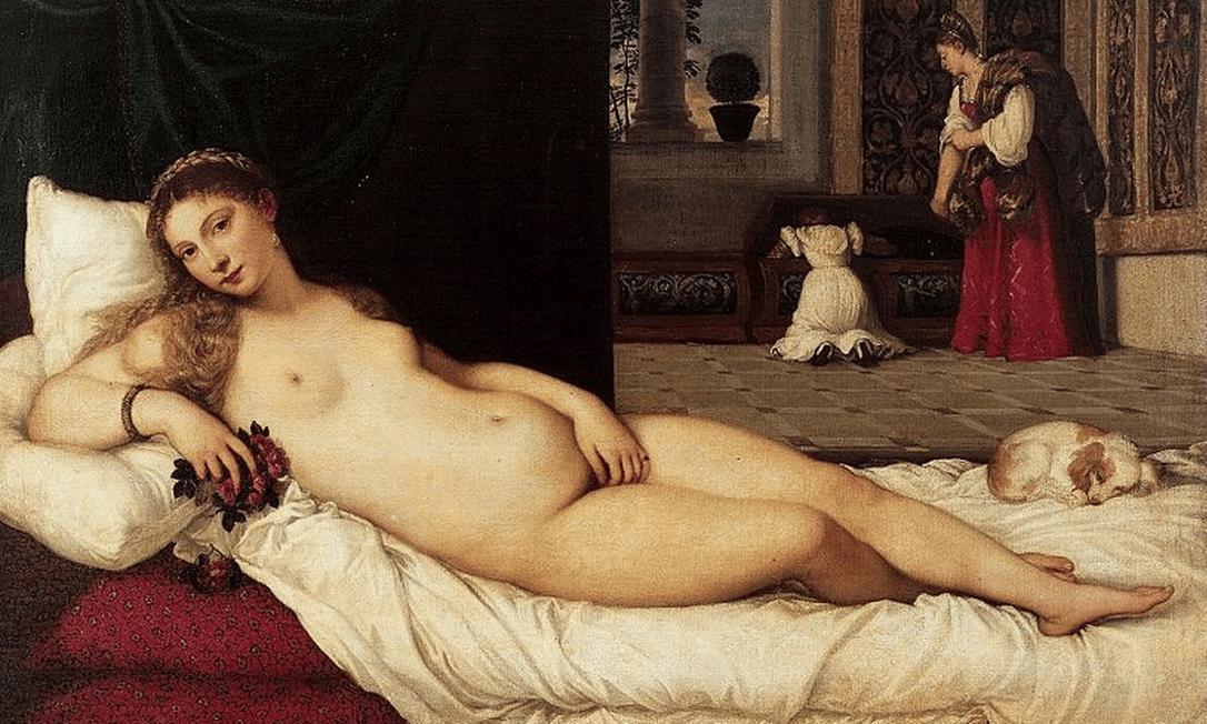 Venus de Urbino, de Ticiano Foto: Reprodução