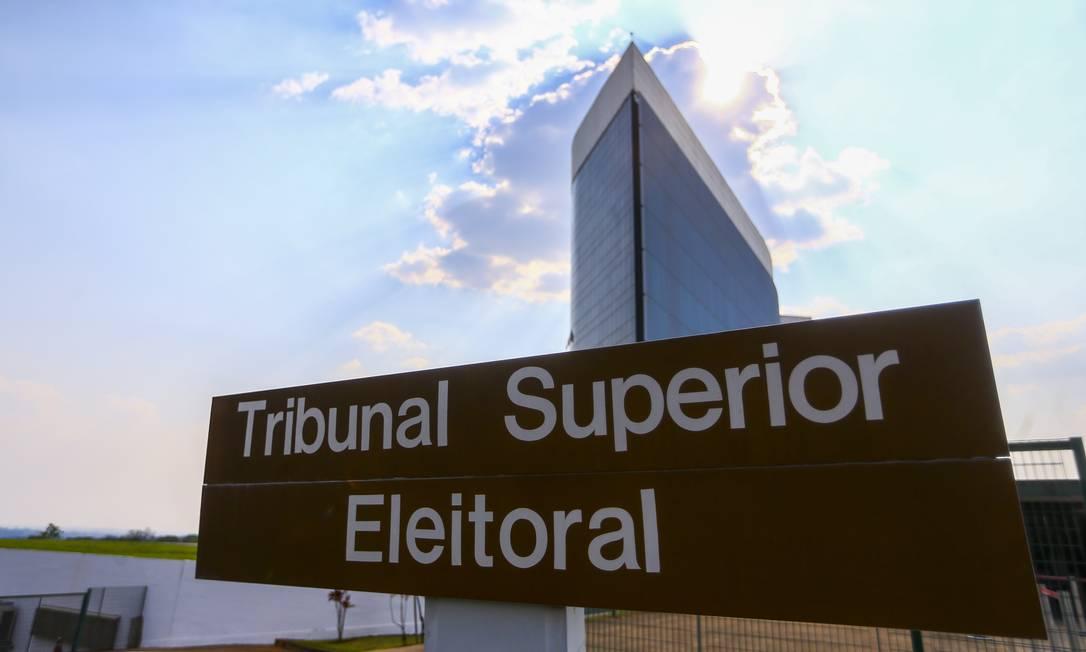 Tribunal Superior Eleitoral Foto: Marcelo Camargo / Agência O Globo (08/10/20)
