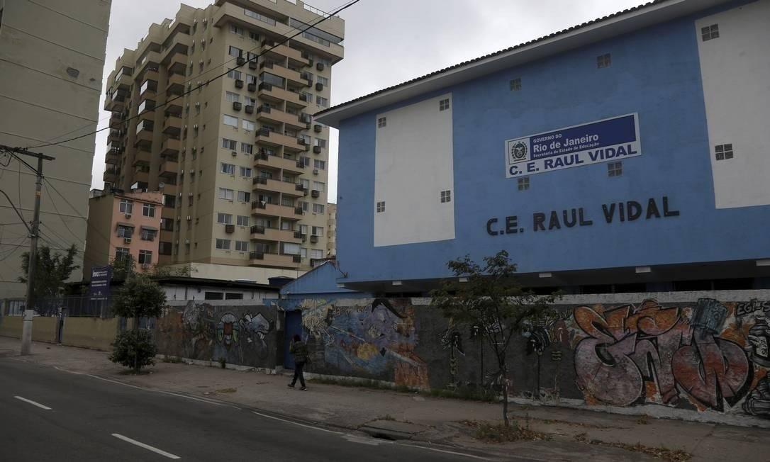 Colégio Estadual Raul Vidal Foto: Agência O Globo