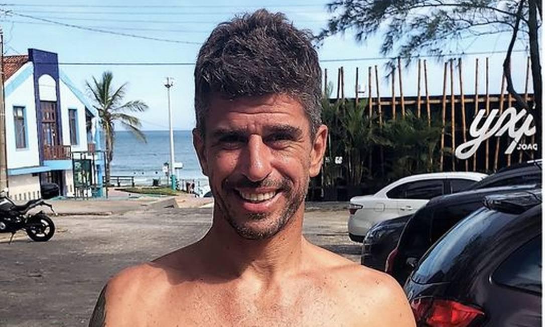 O surfista Marcelo Tonon Foto: Reprodução