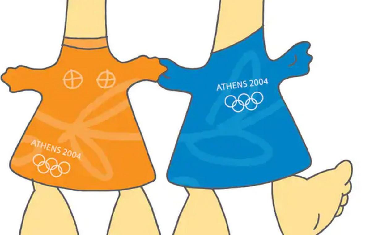 Atenas 2004: Phevos e Athena Foto: Reprodução