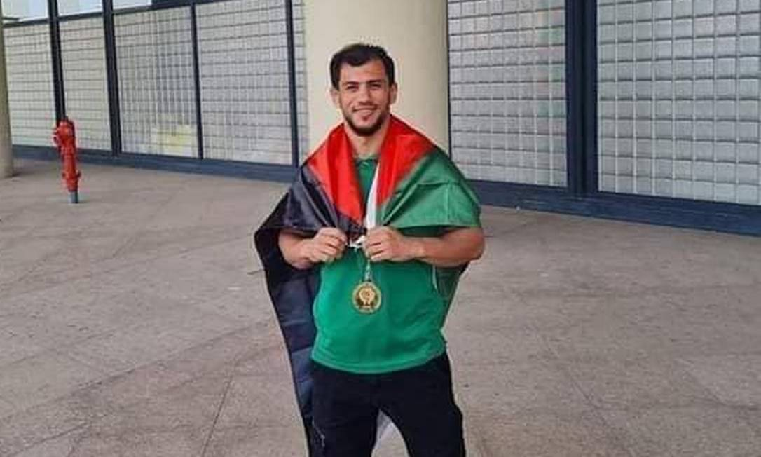 O judoca argelino Fethi Nourine Foto: Reprodução