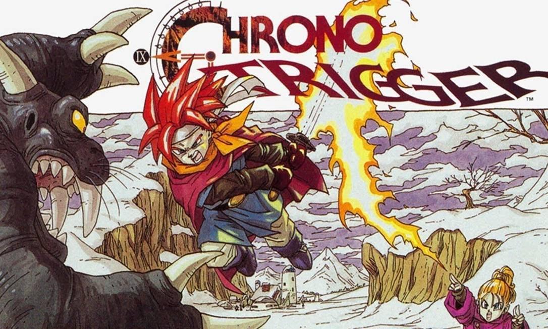 Chrono Trigger, um dos mais aclamados jogos de RPG japonês Foto: Reprodução