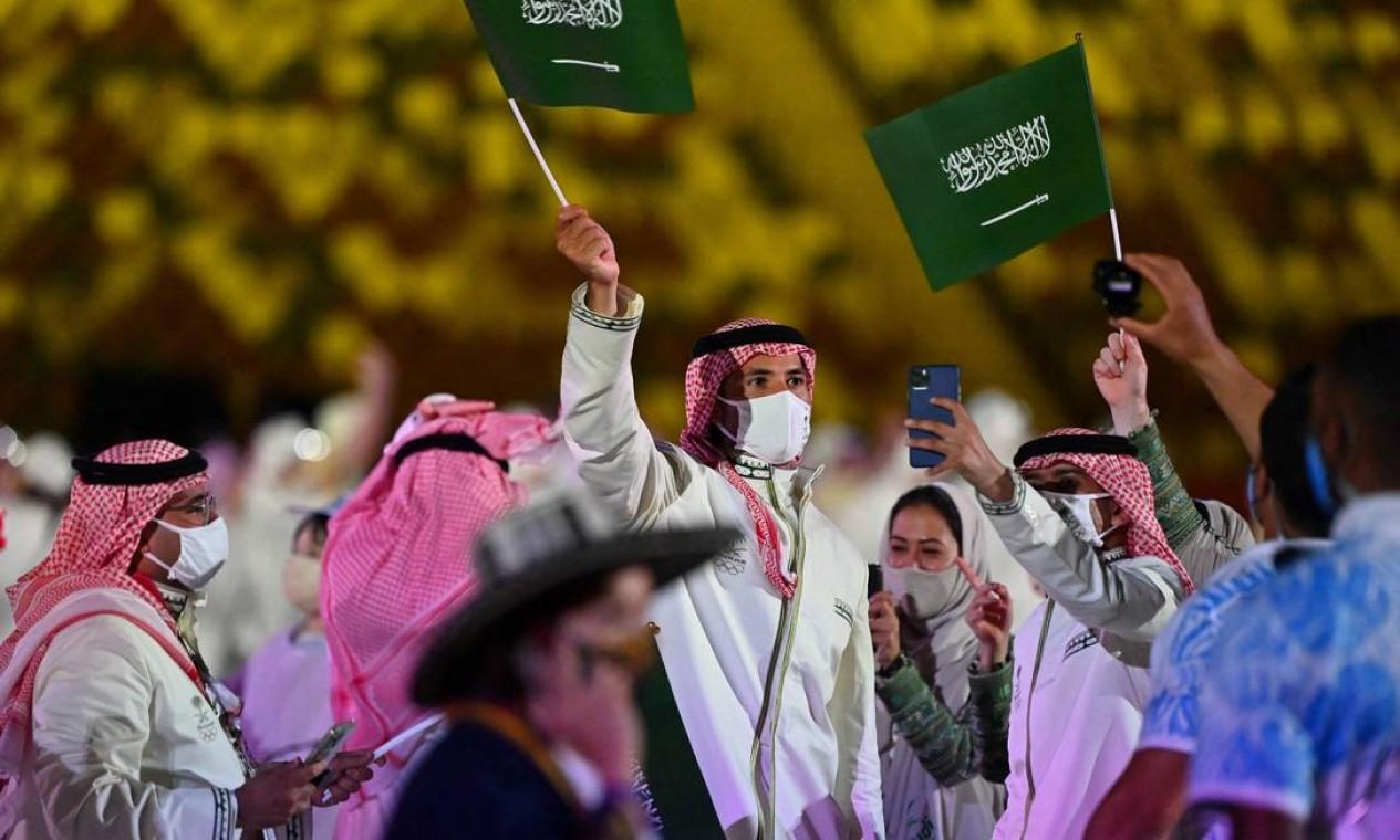 Pela primeira vez na história a Arábia Saudita entra com uma mulher na delegação olímpica Foto: ANDREJ ISAKOVIC / AFP