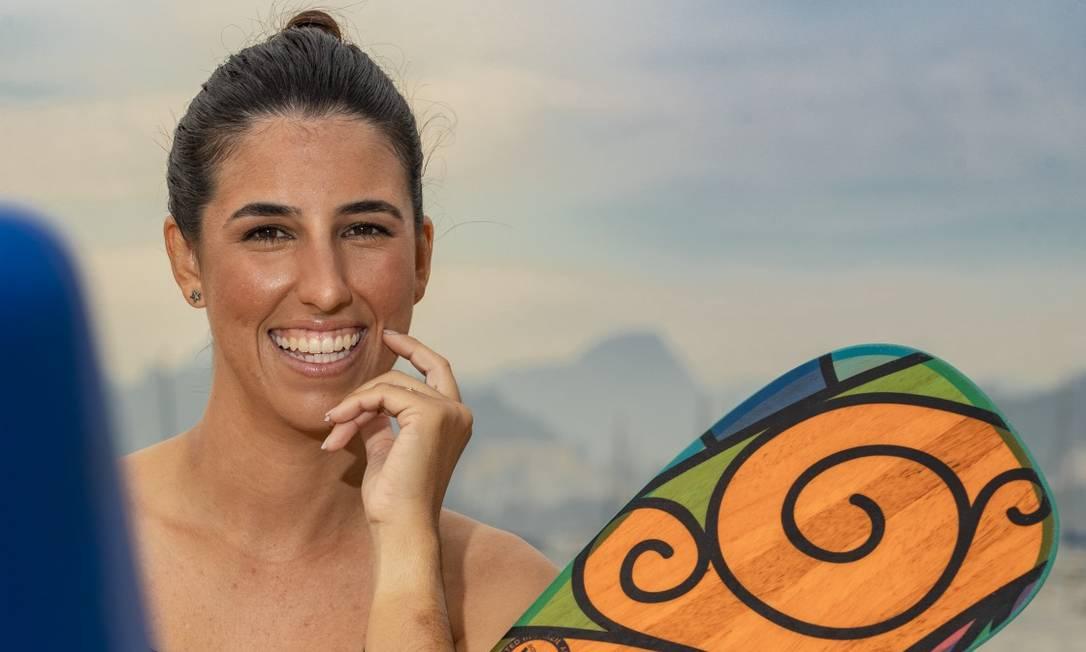 Karine Aragão Foto: Ana Branco/Agência O Globo