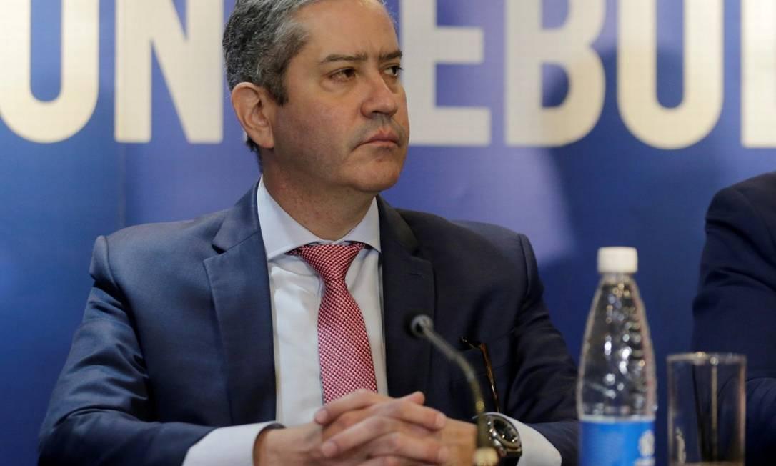 Rogerio Caboclo, presidente da CBF Foto: Jorge Adorno / Reuters