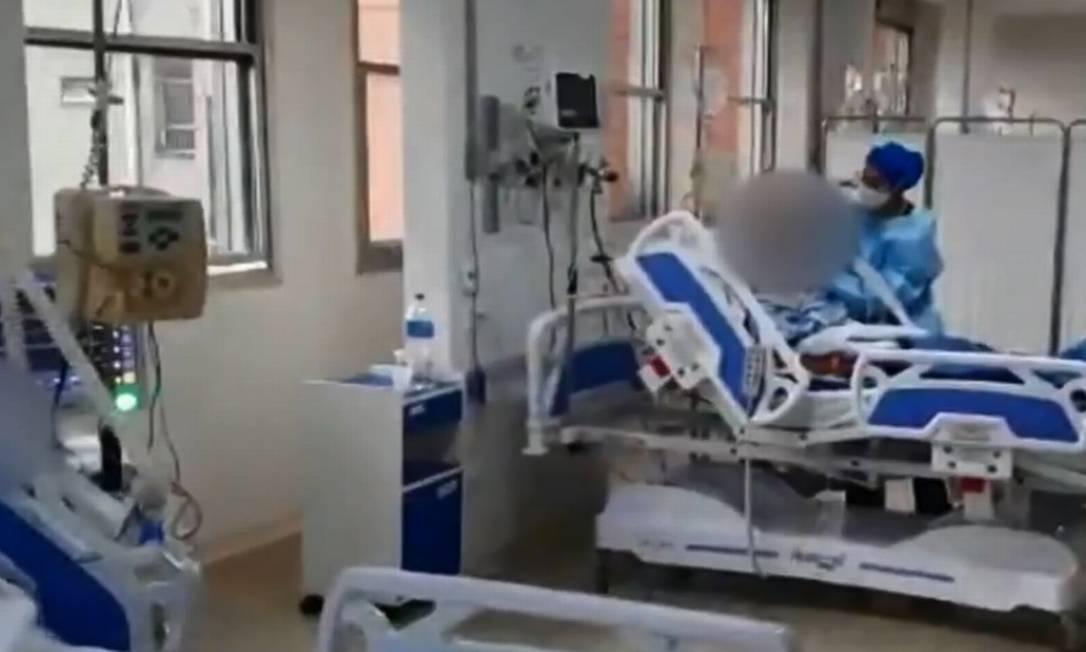 Desabastecimento do antibiótico já atinge hospitais públicos e particulares de treze estados e no Distrito Federal, aponta levantamento Foto: Reprodução TV Globo