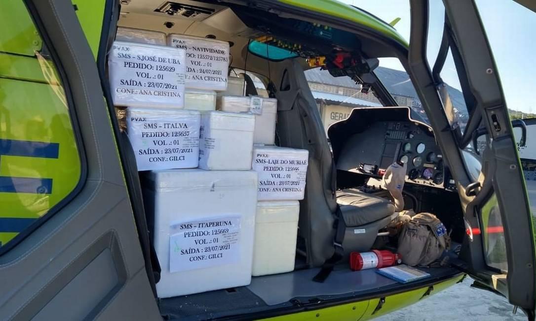 Secretaria de Saúde distribui 197 mil doses de vacina Foto: Reprodução / Instagram