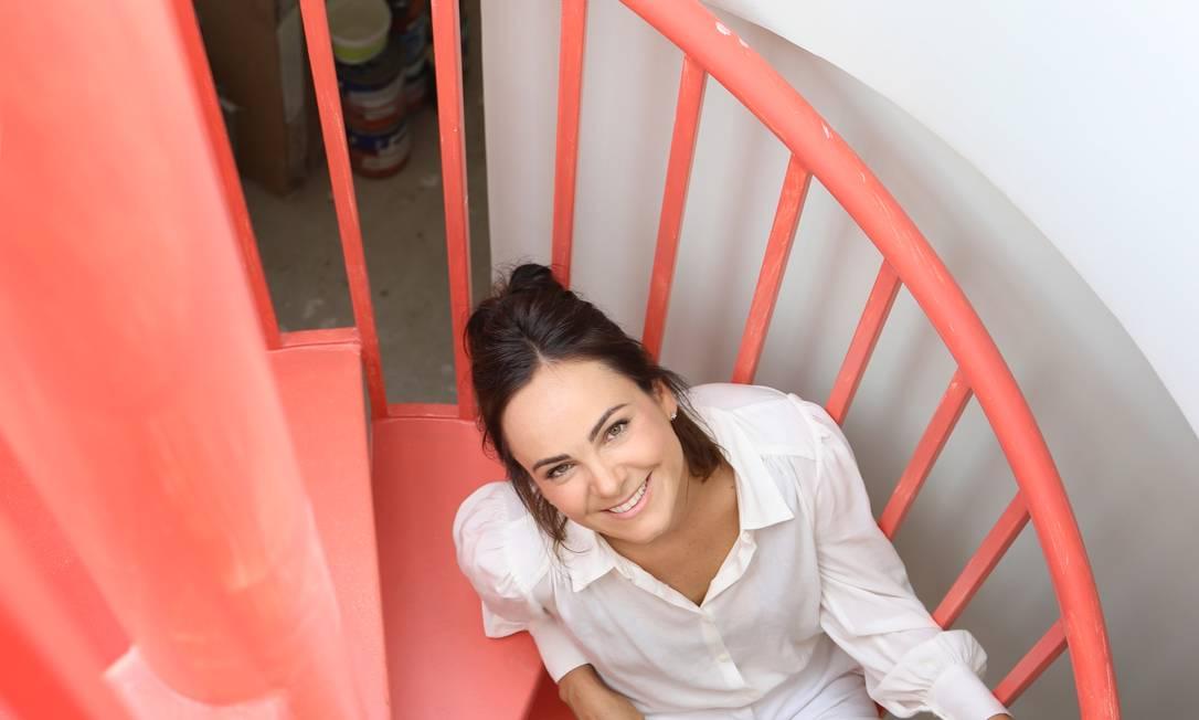 A arquiteta Patricia Pomerantzeff: projetos de clientes geram histórias e atraem outros Foto: Mariana Orsi/Divulgação