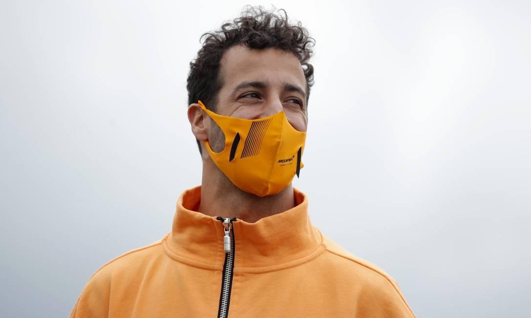 Daniel Ricciardo, piloto australiano da McLaren Foto: Andrew Couldridge / REUTERS