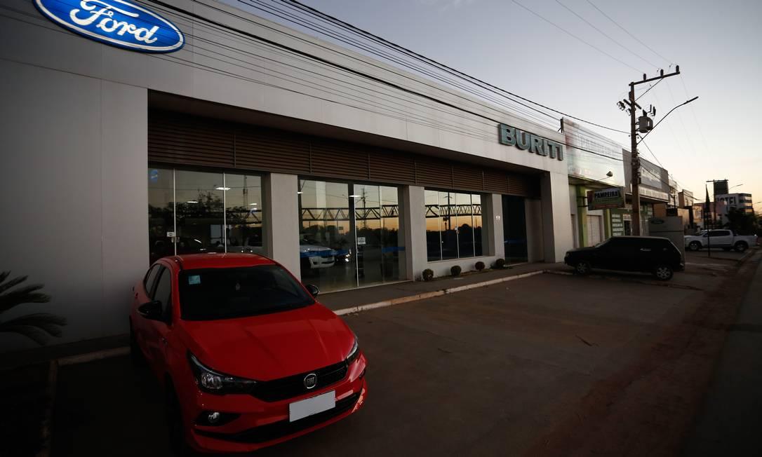 Na Ford da região, a venda de picapes cresceu 21,6% no primeiro semestre Foto: Pablo Jacob / Agência O Globo