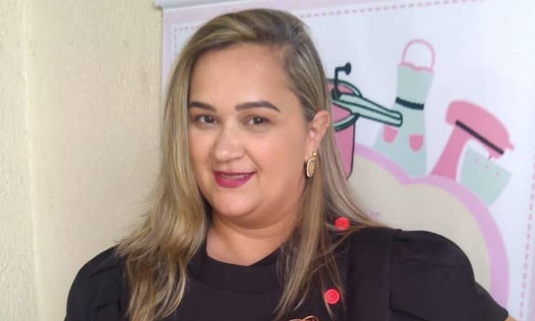 """Gleide Borges (@agleidequefez), de Brasília, fez o curso em 2017, quando decidiu tirar do papel sua confeitaria, que batizou de """"A Gleide que fez"""". Ela tinha acabado de ficar desempregada e vendia doces no boca-a-boca. Hoje, 80% do seu faturamento vem da internet Foto: Arquivo pessoal"""
