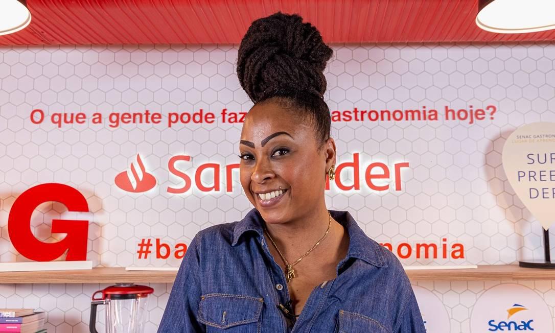 A chef Andressa Cabral Foto: Divulgação