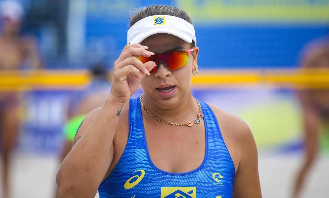 Dupla Ana Patrícia e Rebecca são esperança de medalha no vôlei de praia Foto: Divulgação CBV