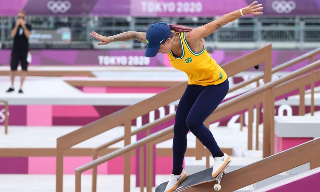 Tokyo 2020 Olympics - Skateboarding - Women's Street - Preliminary Round - Ariake Urban Sports Park - Tokyo, Japan - July 26, 2021. Leticia Bufoni of Brazil in action. REUTERS/Lucy Nicholson Foto: LUCY NICHOLSON / REUTERS