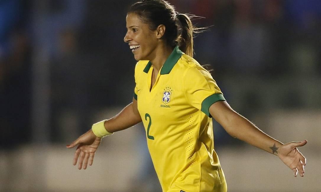 10ª - Fabiana (futebol), prata em 2008 aos 19 anos e 17 dias. Foto: Rafael Ribeiro / CBF