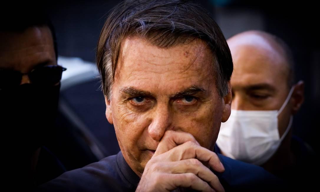 Presidente Jair Bolsonaro Foto: Aloisio Mauricio / Fotoarena / Agência O Globo