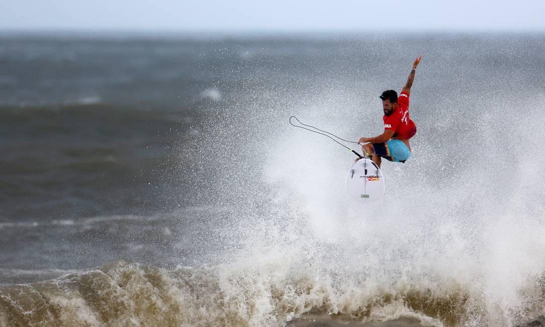 Italo Ferreira enfrentará Kanoa Igarashi na final olímpica Foto: LISI NIESNER / REUTERS