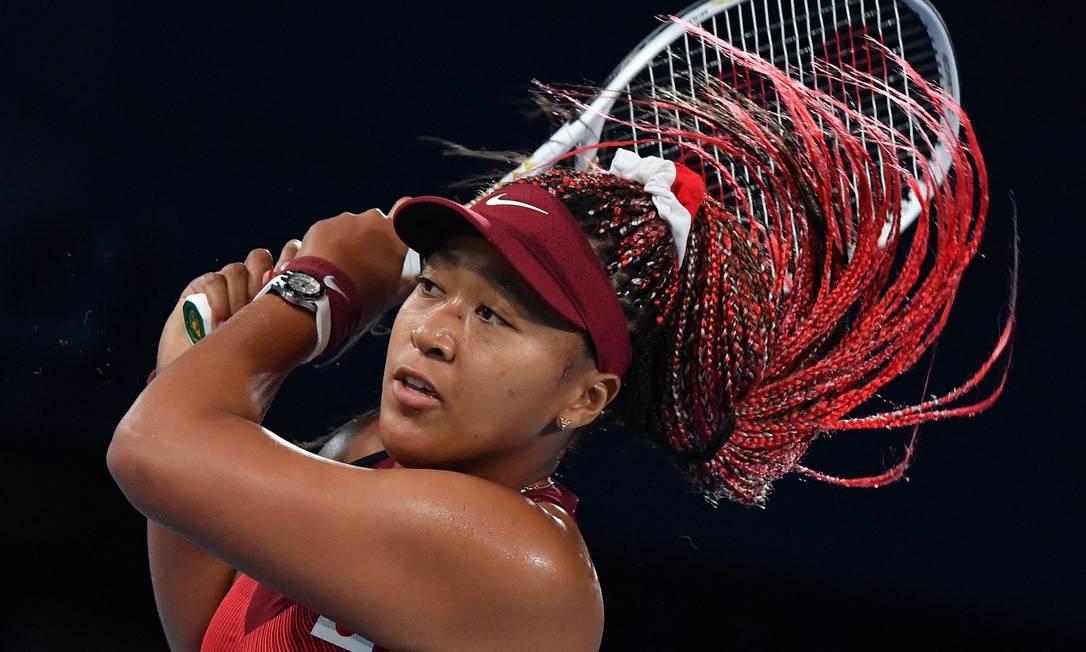 L'atleta ha rivelato di aver lottato con periodi di ansia e depressione da quando ha vinto gli US Open.  Foto: TIZIANA FABI / AFP