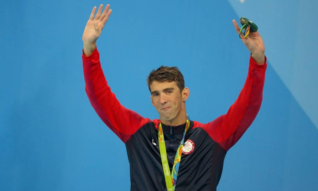 L'ex nuotatore Michael Phelps ha rivelato, nel 2018, che sta combattendo la depressione e sta pensando al suicidio dopo Londra 2012 Foto: Pedro Kyrillos/Agência O Globo